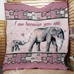 Theartsyhomes Elephant M1402 81o34 3D Personalized Customized Quilt Blanket ESR30