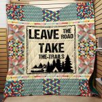 Theartsyhomes Camping 2 3D Personalized Customized Quilt Blanket ESR42