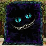 Theartsyhomes Cheshire smile 3D Personalized Customized Quilt Blanket ESR38