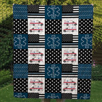 Theartsyhomes EMS Custom Handmade 3D Personalized Customized Quilt Blanket ESR30