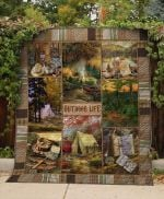 Theartsyhomes Camping: Outdoor Life 3D Personalized Customized Quilt Blanket ESR10