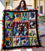 Theartsyhomes Boston Terrier 3D Personalized Customized Quilt Blanket ESR22