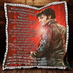 Theartsyhomes Cant Help Falling In Love With You P312 3D Personalized Customized Quilt Blanket ESR27