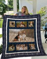 Theartsyhomes Beagle 2 3D Personalized Customized Quilt Blanket ESR32