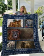 Theartsyhomes English Mastiff 3D Personalized Customized Quilt Blanket ESR36