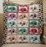 Theartsyhomes Camping And Beer 3D Personalized Customized Quilt Blanket ESR47
