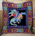 Theartsyhomes Dragon V9 3D Personalized Customized Quilt Blanket ESR37