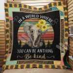 Theartsyhomes Elephant M2103 85o31 3D Personalized Customized Quilt Blanket ESR1