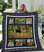 Theartsyhomes Beagle Qui25006 3D Personalized Customized Quilt Blanket ESR8