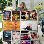 Theartsyhomes Cyndi Lauper 3D Personalized Customized Quilt Blanket ESR12