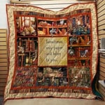Theartsyhomes Book D1305 85o40 3D Personalized Customized Quilt Blanket ESR45