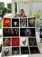 Theartsyhomes Demon Hunter 3D Personalized Customized Quilt Blanket ESR12