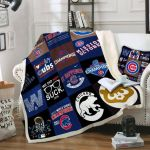 Theartsyhomes Chicago Cubs Fleece s Ccc01 3D Personalized Customized Quilt Blanket ESR43