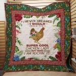 Theartsyhomes Farmer Chicken J1601 83o38 3D Personalized Customized Quilt Blanket ESR1