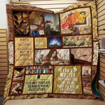 Theartsyhomes Book Best Story 3D Personalized Customized Quilt Blanket ESR39