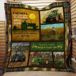 Theartsyhomes Farming J1005 82o33 3D Personalized Customized Quilt Blanket ESR30