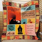Theartsyhomes Book N3004 83o07 3D Personalized Customized Quilt Blanket ESR6