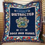 Theartsyhomes Book D0502 82o33 3D Personalized Customized Quilt Blanket ESR39