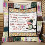 Theartsyhomes Cow Tdq-Qht0013 3D Personalized Customized Quilt Blanket ESR36