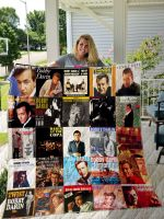 Theartsyhomes Bobby Darin Style Two 3D Personalized Customized Quilt Blanket ESR31