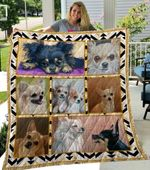 Theartsyhomes Chihuahua Phdog11001 3D Personalized Customized Quilt Blanket ESR37