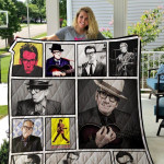 Theartsyhomes Elvis Costello 3D Personalized Customized Quilt Blanket ESR22