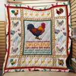 Theartsyhomes Chicken F1201 84o41 3D Personalized Customized Quilt Blanket ESR21
