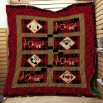 Theartsyhomes Dispatcher Heartbeat 911 3D Personalized Customized Quilt Blanket ESR49