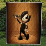 Theartsyhomes Bendy and the ink machine ( 3 style ) 3D Personalized Customized Quilt Blanket ESR49
