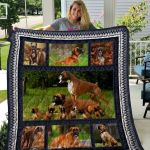 Theartsyhomes Boxer Qui7009 3D Personalized Customized Quilt Blanket ESR17