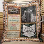 Theartsyhomes Book J1507 81o37 3D Personalized Customized Quilt Blanket ESR28