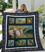 Theartsyhomes Biirds Phdog8001 3D Personalized Customized Quilt Blanket ESR42