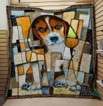 Theartsyhomes Beagle 3D Personalized Customized Quilt Blanket ESR47