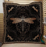 Theartsyhomes Dragonfly V20 3D Personalized Customized Quilt Blanket ESR2