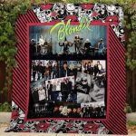 Theartsyhomes Blondie #Bjan-2 3D Personalized Customized Quilt Blanket ESR16