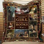 Theartsyhomes Book D1310 82o37 3D Personalized Customized Quilt Blanket ESR48