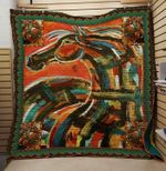 Theartsyhomes Color horse 3D Personalized Customized Quilt Blanket ESR13