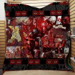 Theartsyhomes Deadpool #Tnov-11a 3D Personalized Customized Quilt Blanket ESR26