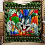 Theartsyhomes Bugs Bunny #Tnov-07 3D Personalized Customized Quilt Blanket ESR8