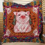 Theartsyhomes Farmer Who Love Pig 3D Personalized Customized Quilt Blanket ESR25