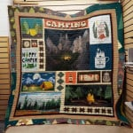 Theartsyhomes Camping F1902 83o41 3D Personalized Customized Quilt Blanket ESR48
