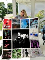 Theartsyhomes Depeche Mode 3D Personalized Customized Quilt Blanket ESR13