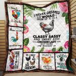 Theartsyhomes Chicken Printing Dml-Qhg00038 3D Personalized Customized Quilt Blanket ESR6