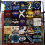 Theartsyhomes Def Leppard New Arrival 3D Personalized Customized Quilt Blanket ESR46