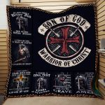 Theartsyhomes Child of God Woman of Faith Warrior Of Christ Mt-Qht0006 3D Personalized Customized Quilt Blanket ESR17