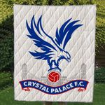 Theartsyhomes Crystal Palace F.C 3D Personalized Customized Quilt Blanket ESR3