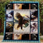 Theartsyhomes Eagle TH45 - 3D Personalized Customized Quilt Blanket ESR14