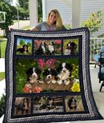Theartsyhomes Bernese Mountain Dog Qui16007 3D Personalized Customized Quilt Blanket ESR26