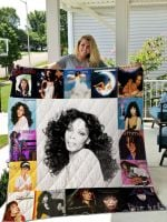 Theartsyhomes Donna Summer 3D Personalized Customized Quilt Blanket ESR2