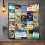 Theartsyhomes C. S. Lewis Books 3D Personalized Customized Quilt Blanket ESR30